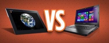 Tablet vs. PC